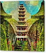 Hidden Zen Canvas Print