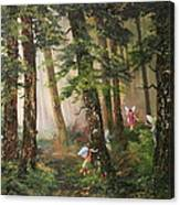 Hide N Seek Canvas Print