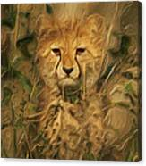 Hiding In The Tall Grass Canvas Print