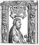 Hieronymous Bock (c1489-1554) Canvas Print