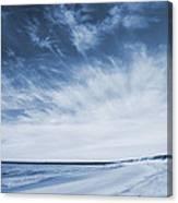 Higbee Beach Cyanotype Canvas Print