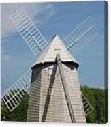 Higgins Farm Windmill Canvas Print