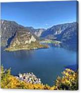 High Above Halstatt Canvas Print