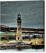 High Above The Lighthouse  Canvas Print