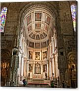 High Altar In Church Of Jeronimos Monastery Canvas Print