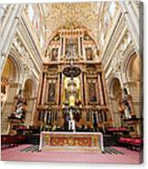 High Altar Of Cordoba Cathedral Canvas Print