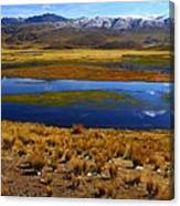 High Altitude Reflections Canvas Print