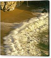 High Angle View Of Waterfall Canvas Print