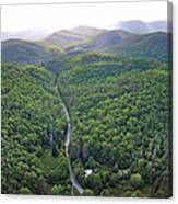 High Country 2 In Wnc Canvas Print