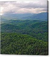 High Country 3 In Wnc Canvas Print