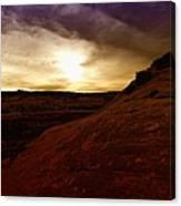 High Desert Clouds Canvas Print