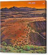 High Desert Evening Canvas Print