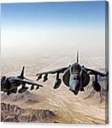 High Desert Harriers Canvas Print