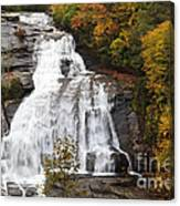 High Falls In The Dupont State Forest Canvas Print
