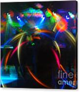 High Frequency Glow Canvas Print
