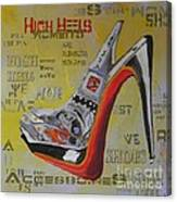 High Heels  Canvas Print