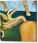 High Horse Canvas Print