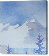 High Lake Canvas Print