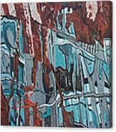 High Line Reflection 2 Canvas Print
