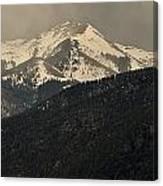 High Mountains Of Taos Canvas Print