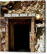 High Peak Mine Canvas Print