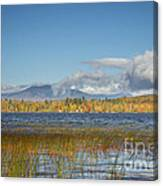 High Peaks Autumn Canvas Print