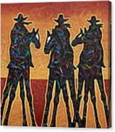 High Plains Drifters Canvas Print