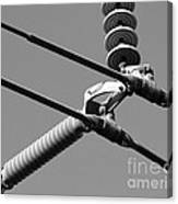 High Power Lines - 1 Canvas Print