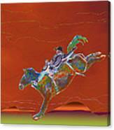 High Riding Canvas Print