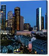 High Rise Buildings In Houston Canvas Print