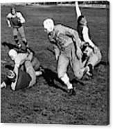 High School Football, 1941 Canvas Print