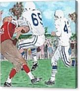 High School Football Canvas Print