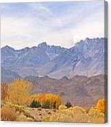 High Sierra Autumn Canvas Print