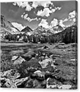 High Sierra Meadow Canvas Print