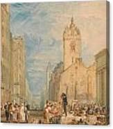 High Street - Edinburgh Canvas Print