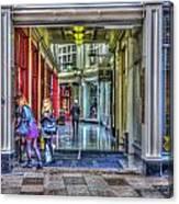 High Street Arcade Cardiff Canvas Print