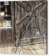High-wheel Canvas Print