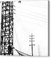 High Wire Suicide Rescue Canvas Print