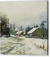 Higham Winter 86 Canvas Print