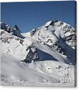 Highest Peak St Mortiz Canvas Print