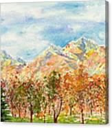 Highlands Autumn Canvas Print