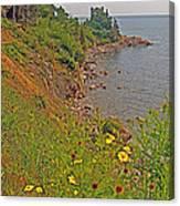 Highlands Coastline In Cape Breton Highlands Np-ns Canvas Print