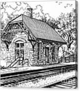 Highlands Train Station Canvas Print