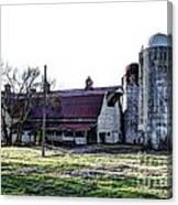 Highway 11 Barn Canvas Print
