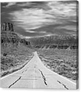 Highway 128 Canvas Print