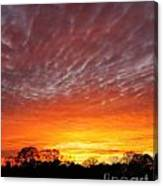 Highway 61 Sunset Canvas Print