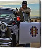 Highway Patrol 6 Canvas Print