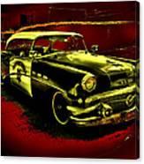 Highway Patrol Canvas Print