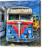 Highway Post Office U.s. Mail Canvas Print