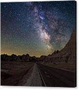 Highway To Canvas Print